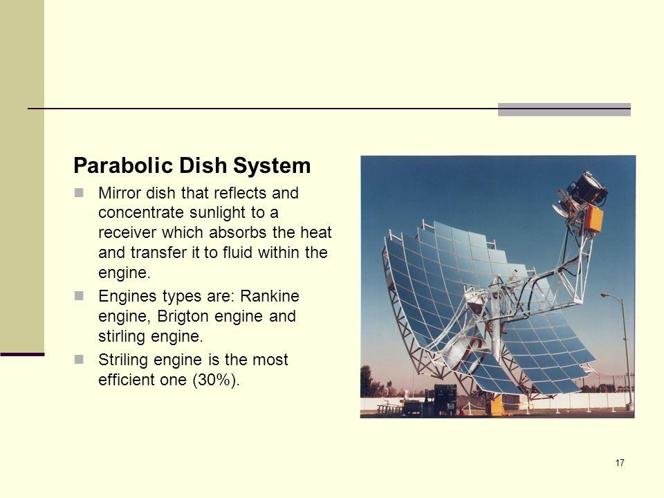 Parabolic Dish System