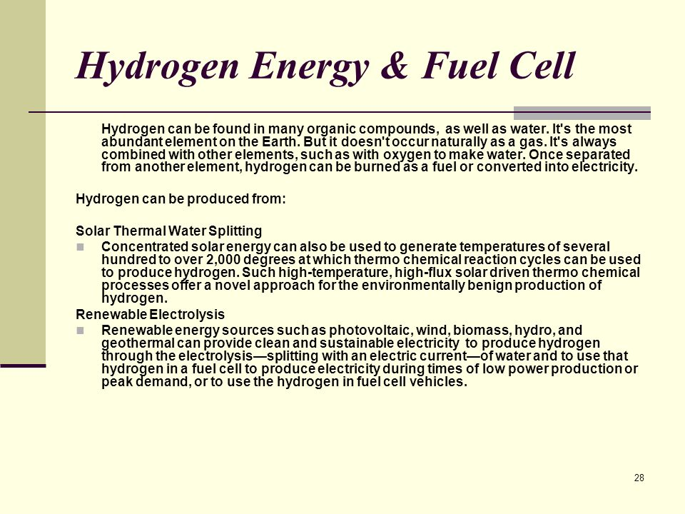 Hydrogen Energy & Fuel Cell