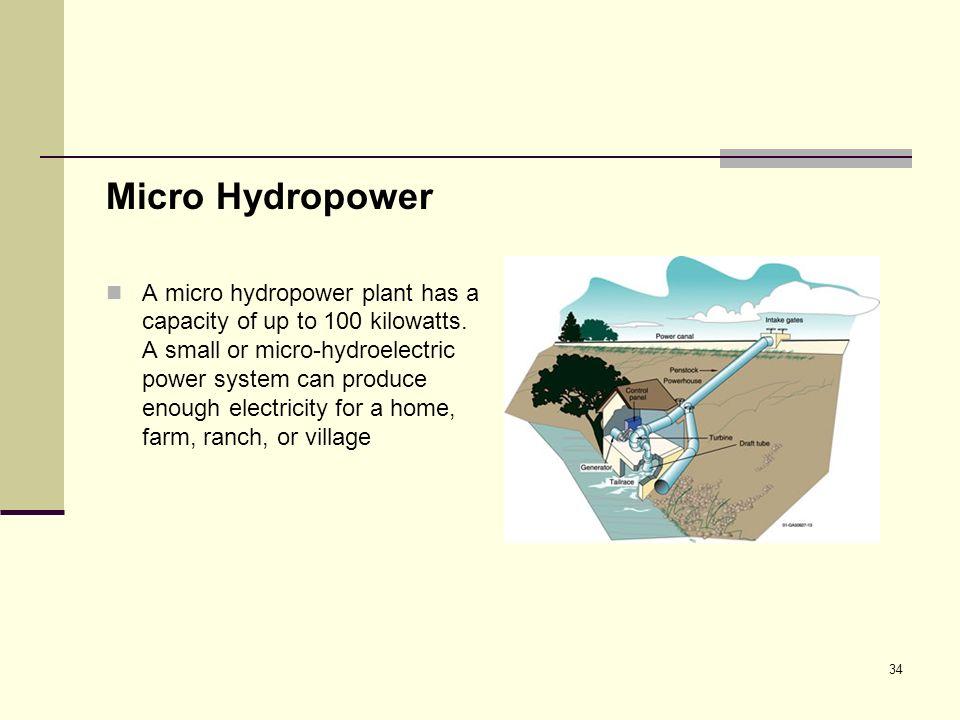 Micro Hydropower
