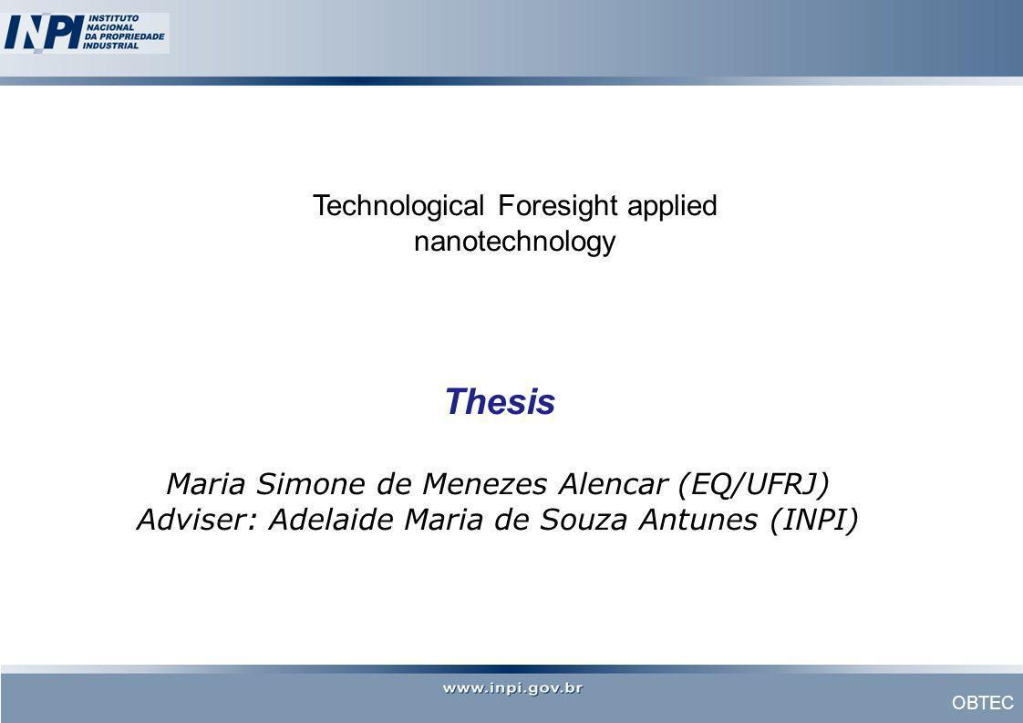 Technological Foresight applied nanotechnology
