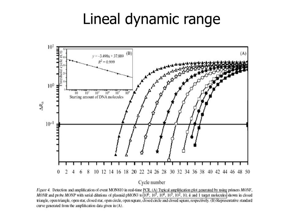Lineal dynamic range