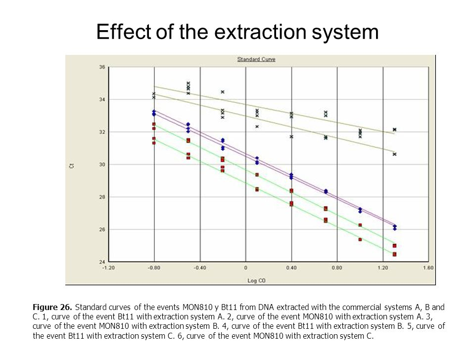 Effect of the extraction system