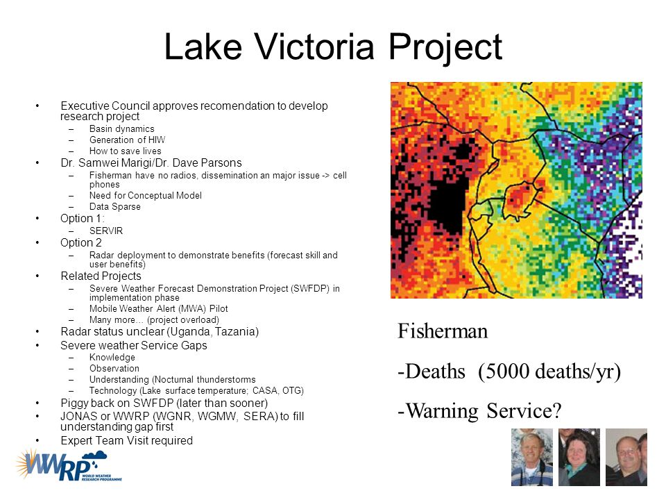 Lake Victoria Project Fisherman Deaths (5000 deaths/yr)