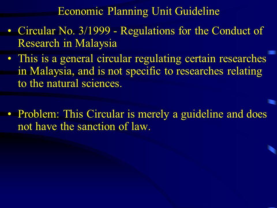 Economic Planning Unit Guideline