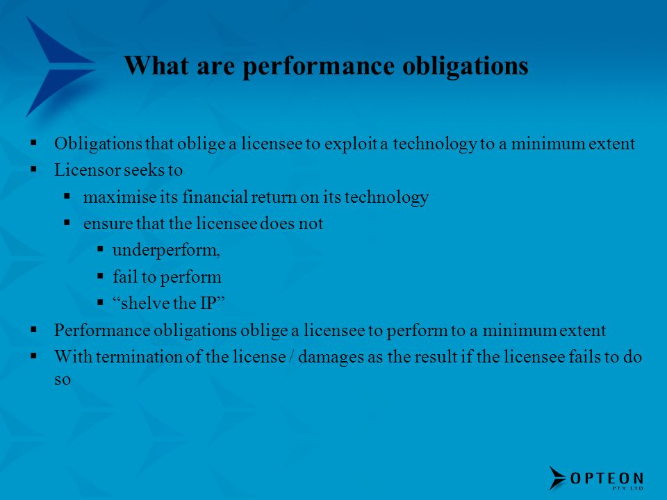 What are performance obligations