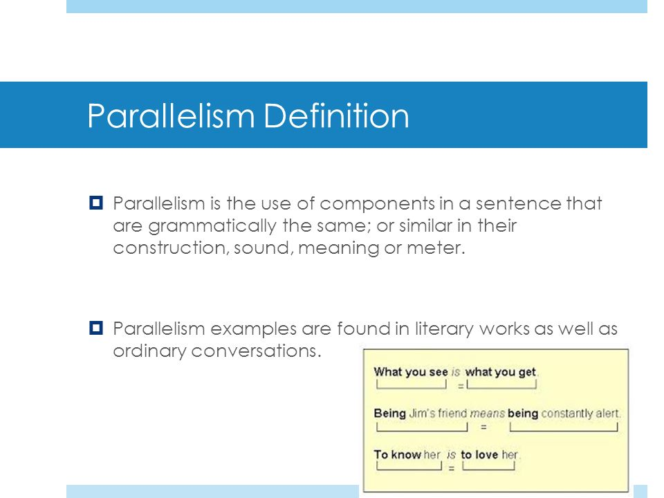 Parallelism Literary Devices. - ppt download