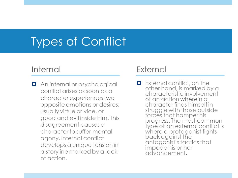 external conflict in hamlet Use our free chapter-by-chapter summary and analysis of hamlet  conflicts  within a single individual, rather than on the external conflicts between  individuals.