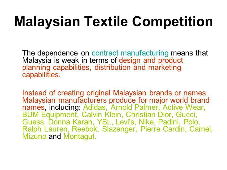 Malaysian Textile Competition