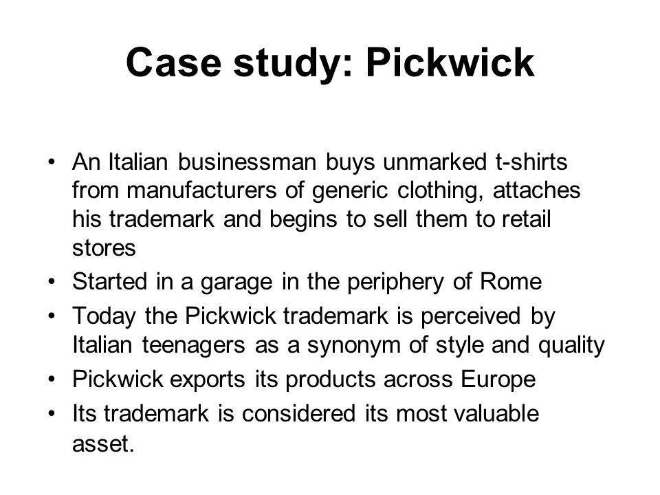 Case study: Pickwick