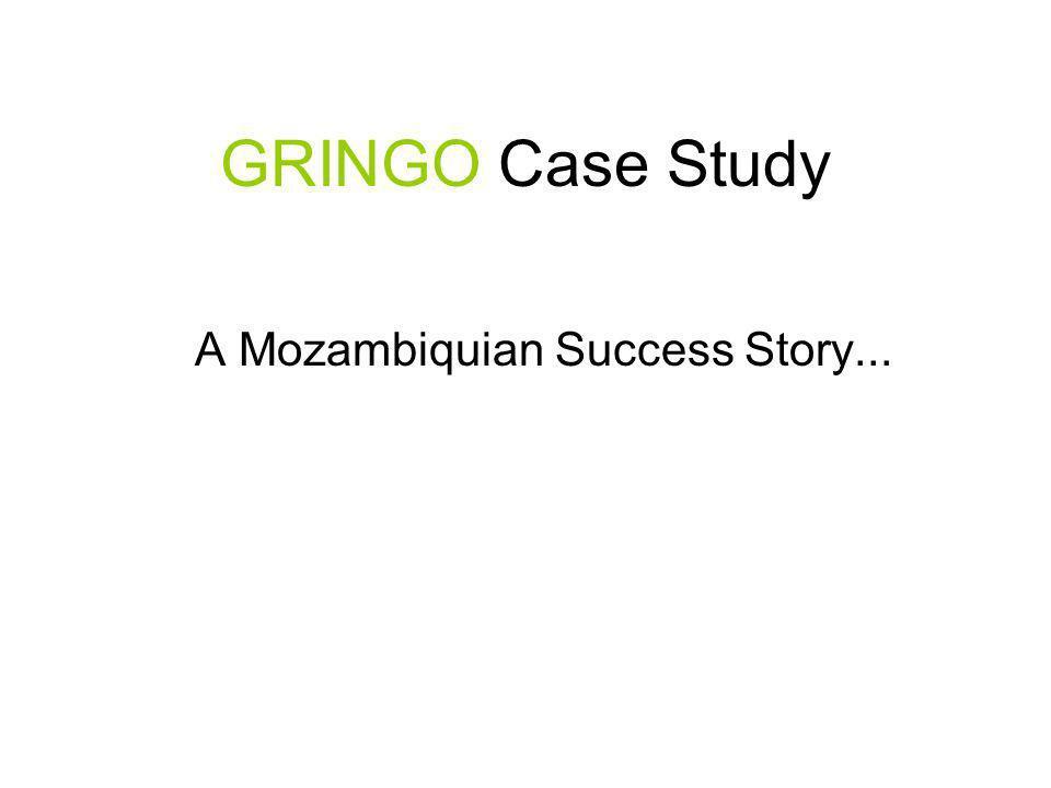 A Mozambiquian Success Story...