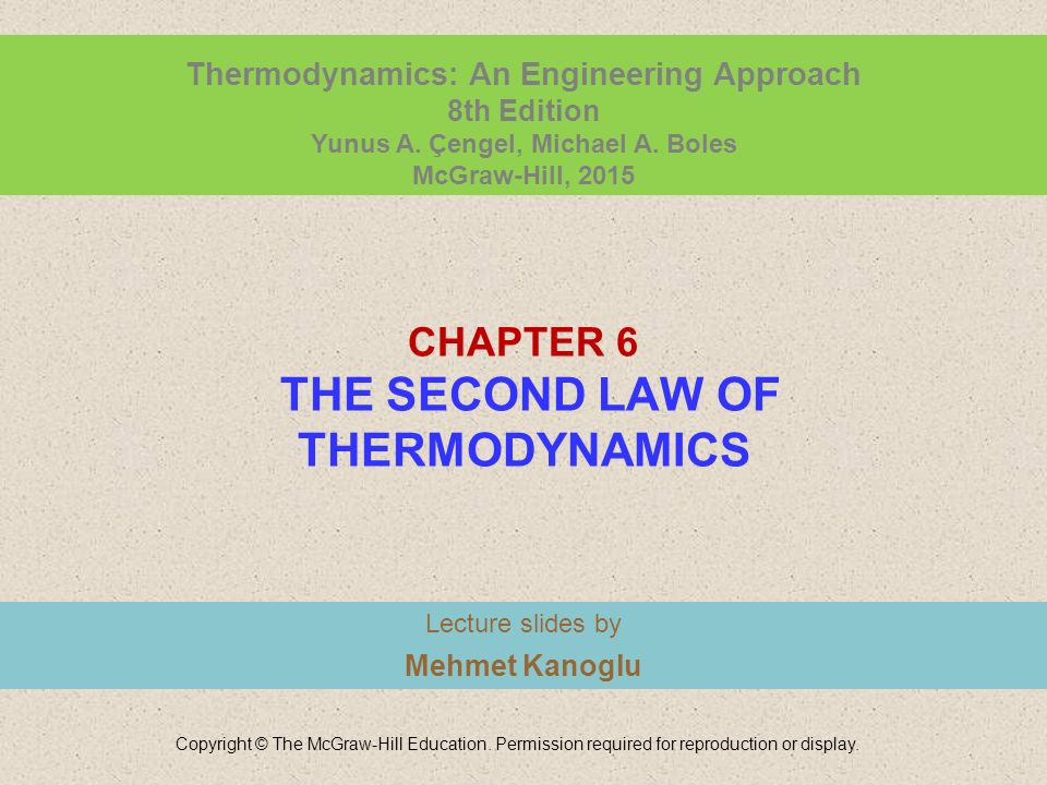 Chapter 6 the second law of thermodynamics ppt video online download chapter 6 the second law of thermodynamics fandeluxe Images