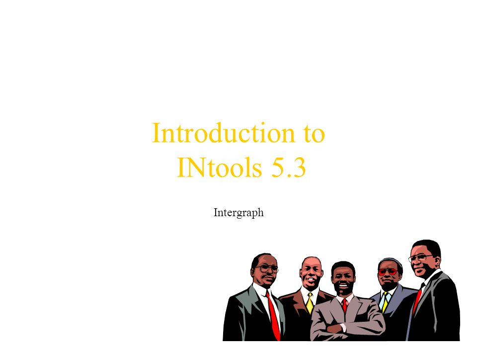 Introduction to INtools 5.3