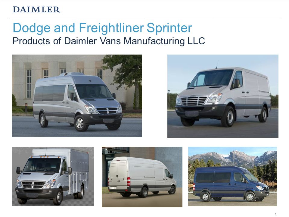 daimler vans manufacturing in ladson sc integral part of