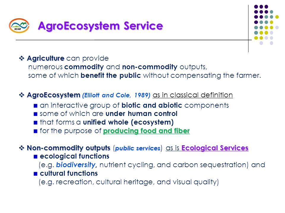 AgroEcosystem Service
