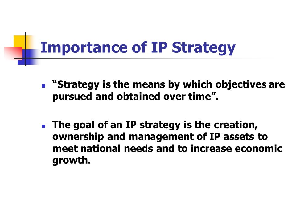 Importance of IP Strategy