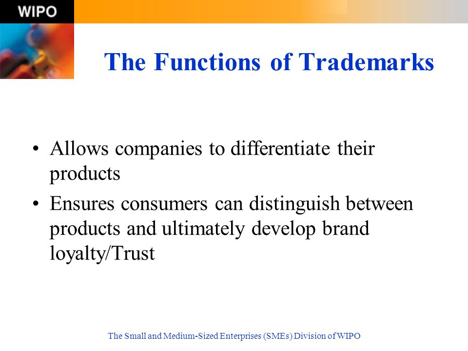 The Functions of Trademarks
