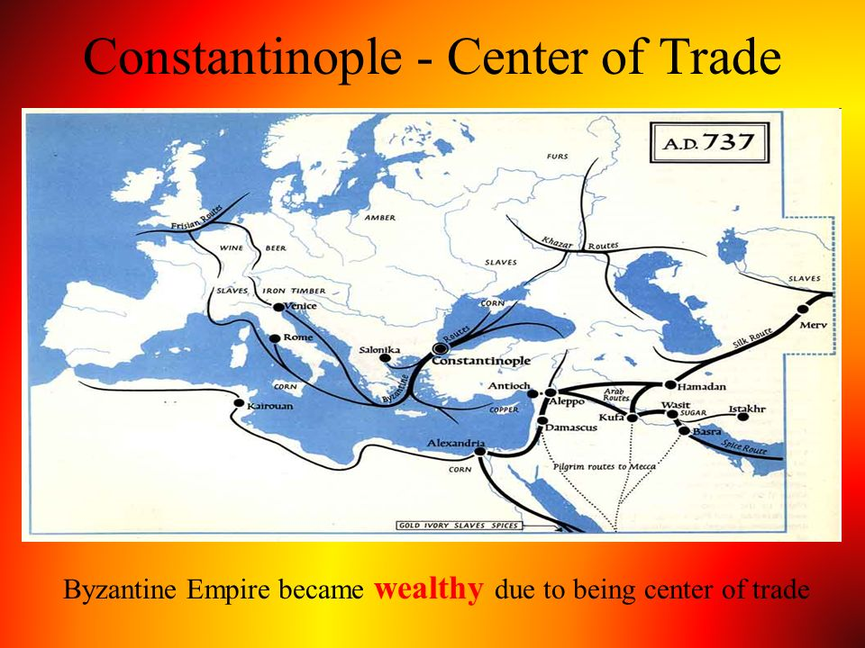 Constantinople - Center of Trade