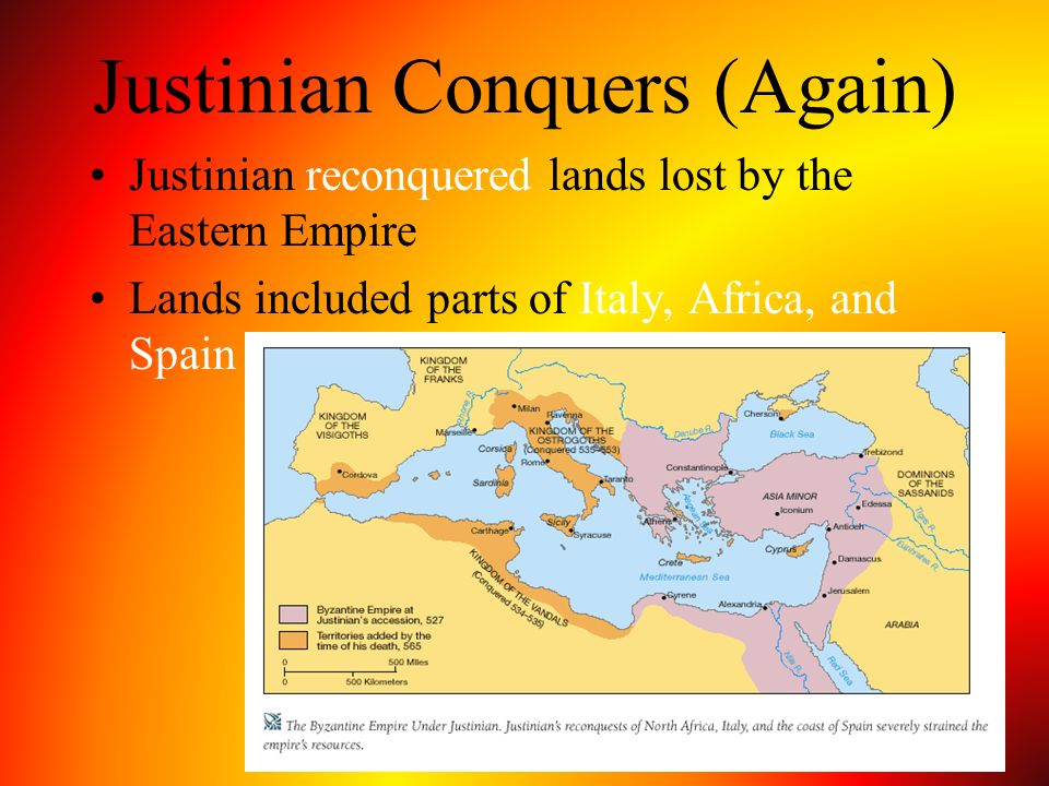 Justinian Conquers (Again)
