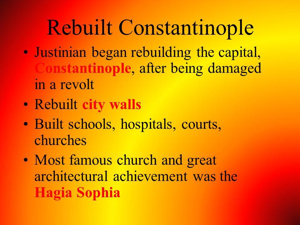 Rebuilt Constantinople