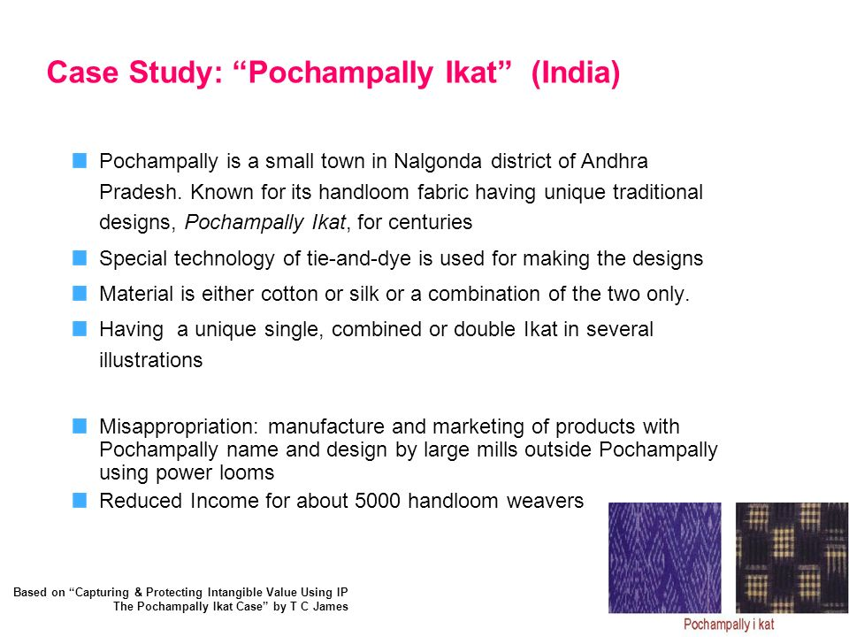 Case Study: Pochampally Ikat (India)