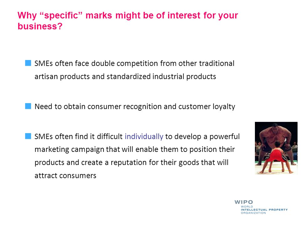 Why specific marks might be of interest for your business