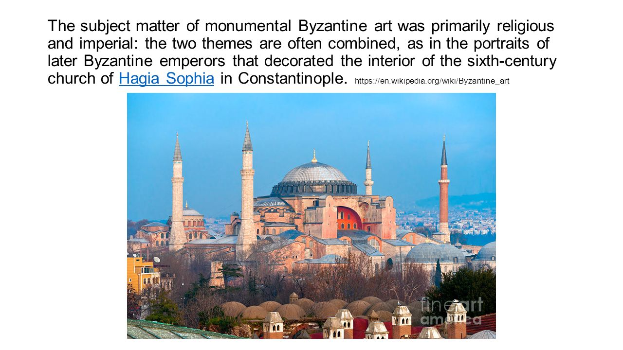 compare and contrast islamic and byzantine art