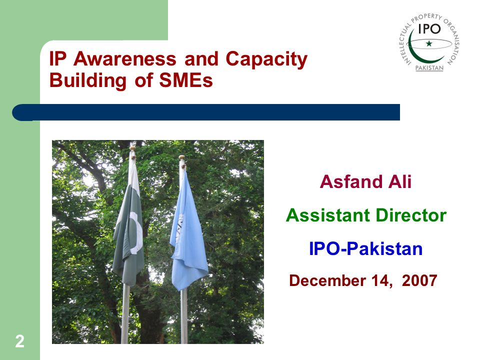 IP Awareness and Capacity Building of SMEs