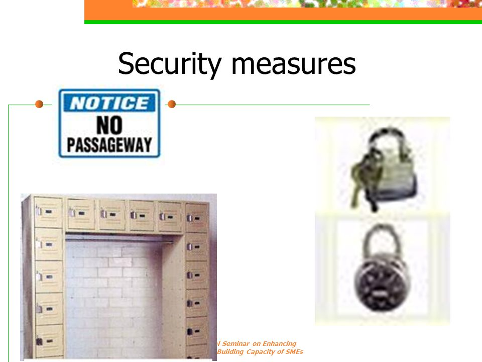 Security measures 7 & 8 Sept 2006