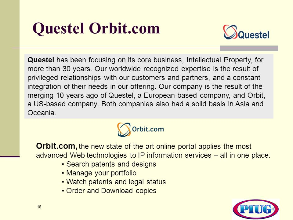 Questel Orbit.com
