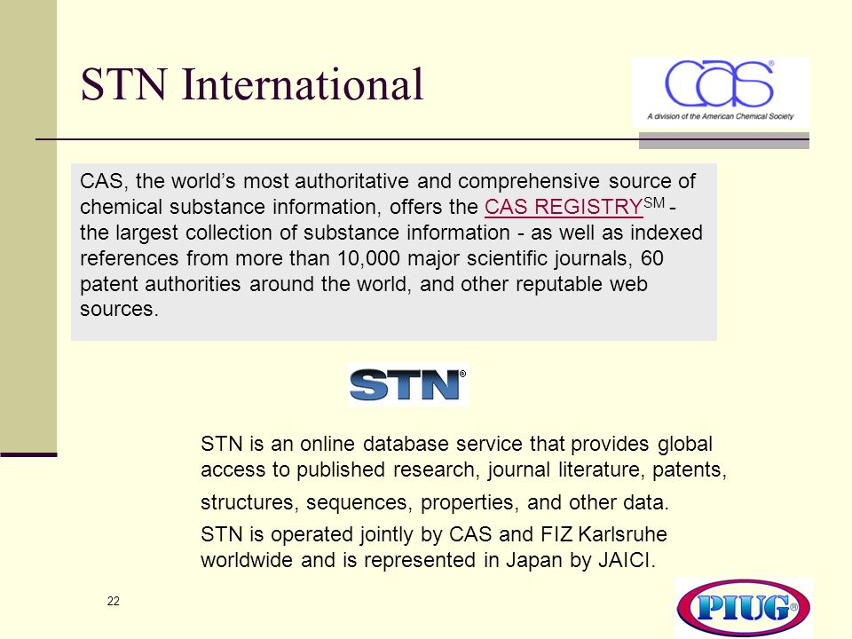 STN International