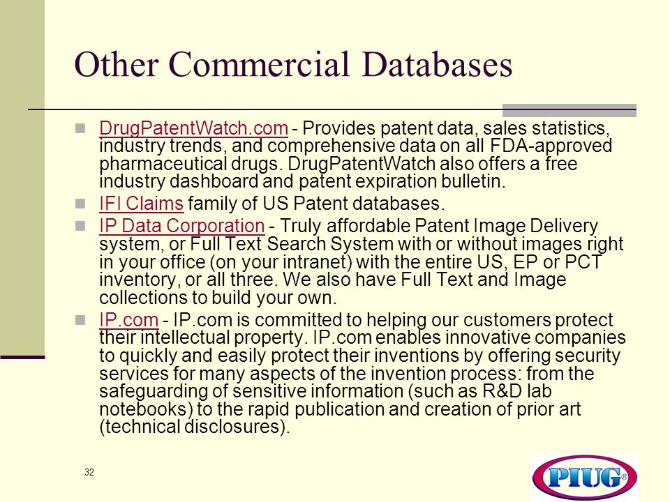 Other Commercial Databases