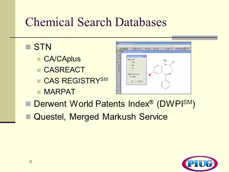 Chemical Search Databases