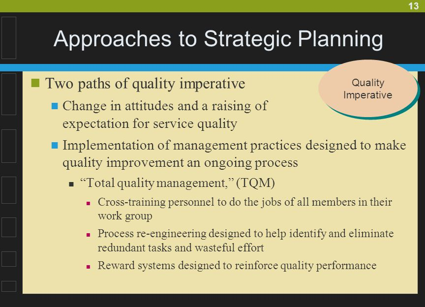 Amazing Approaches To Strategic Planning