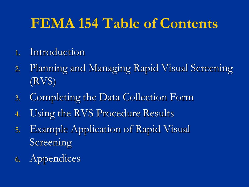 Fema Nonstructural Earthquake Hazard Mitigation Training  Ppt