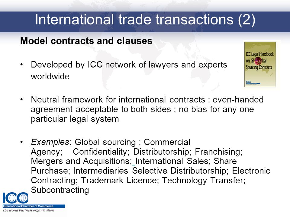 International trade transactions (2)