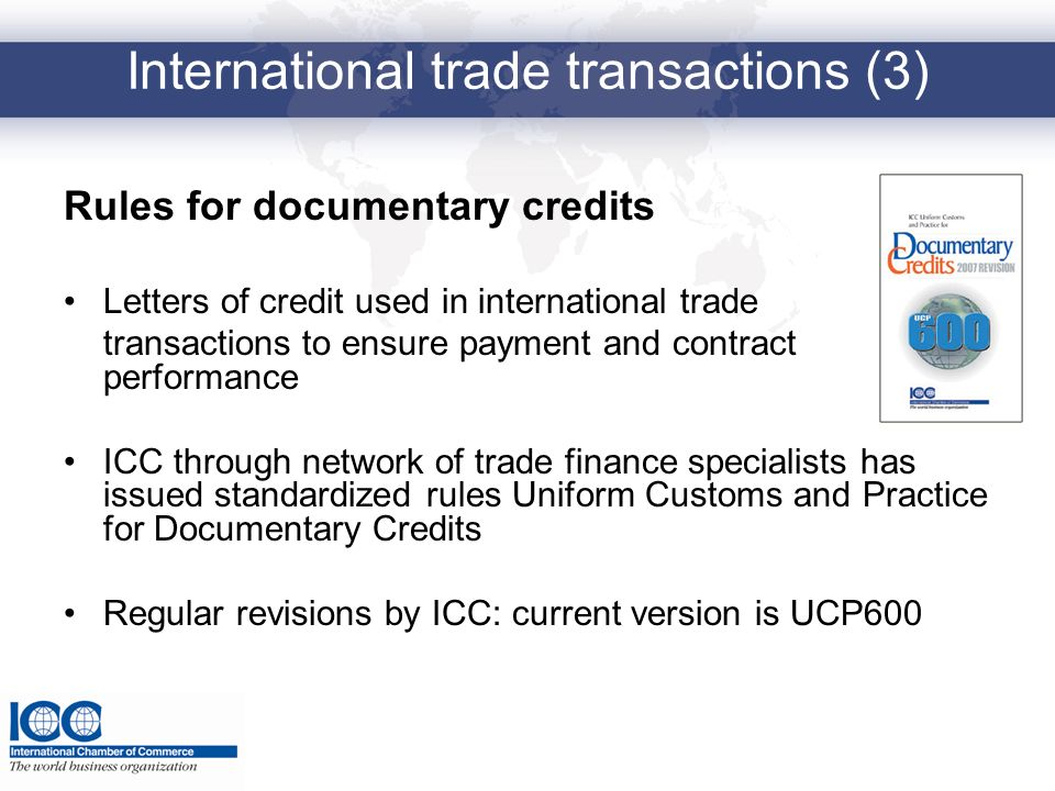 International trade transactions (3)