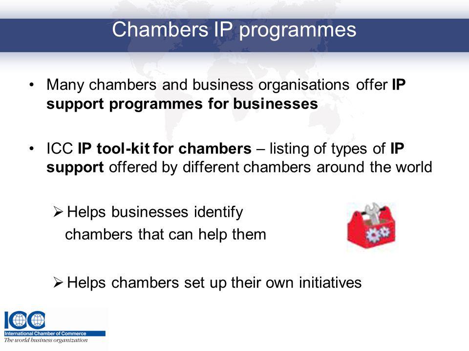 Chambers IP programmes