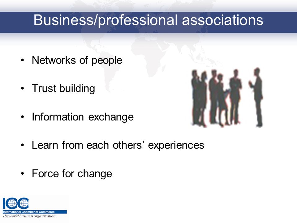 Business/professional associations