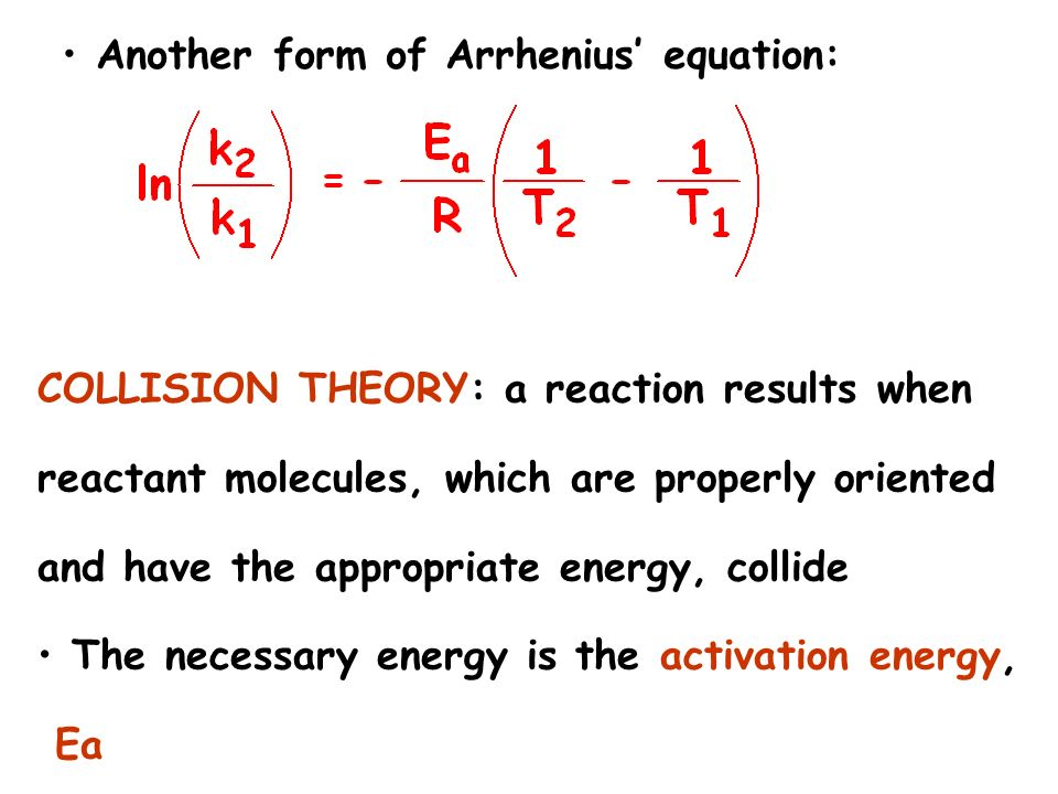 how to find the activated complex in a reaction equation