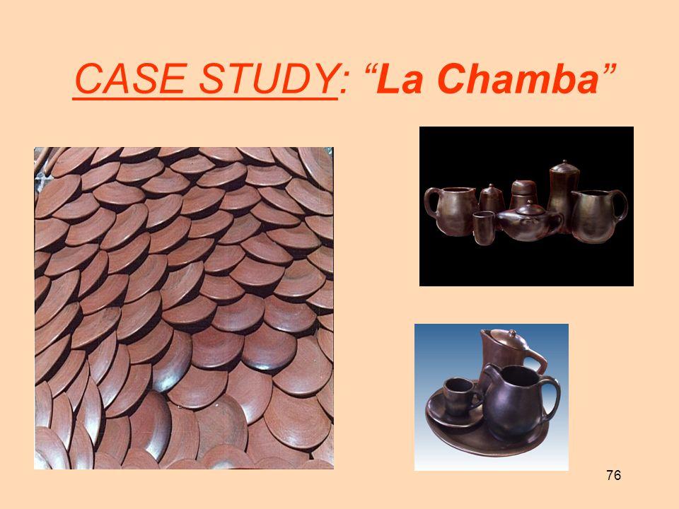 CASE STUDY: La Chamba
