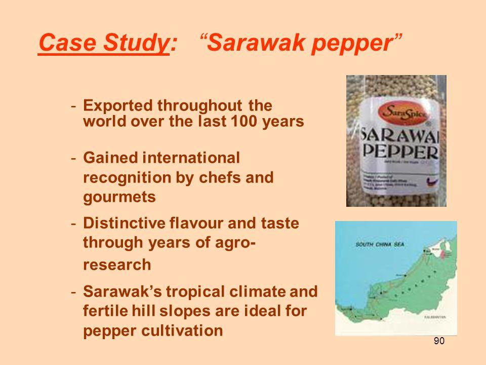 Case Study: Sarawak pepper