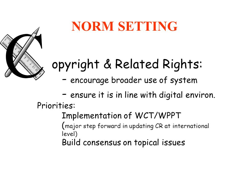 NORM SETTING