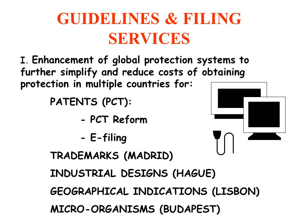 GUIDELINES & FILING SERVICES