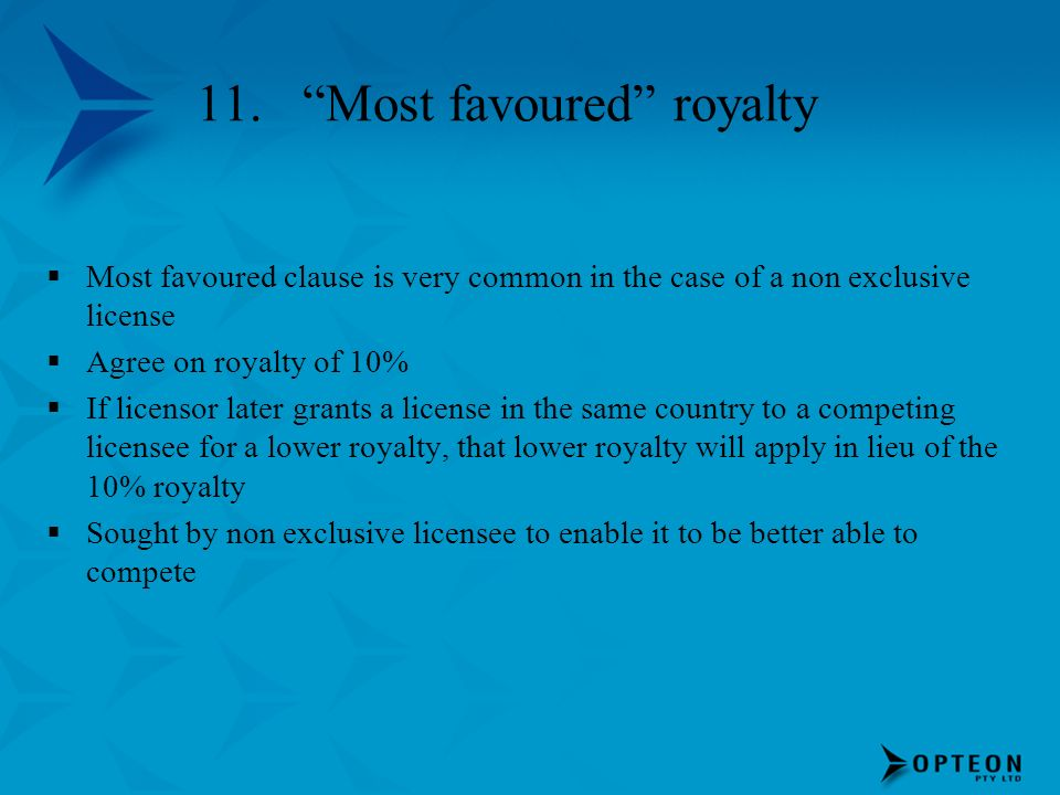 11. Most favoured royalty