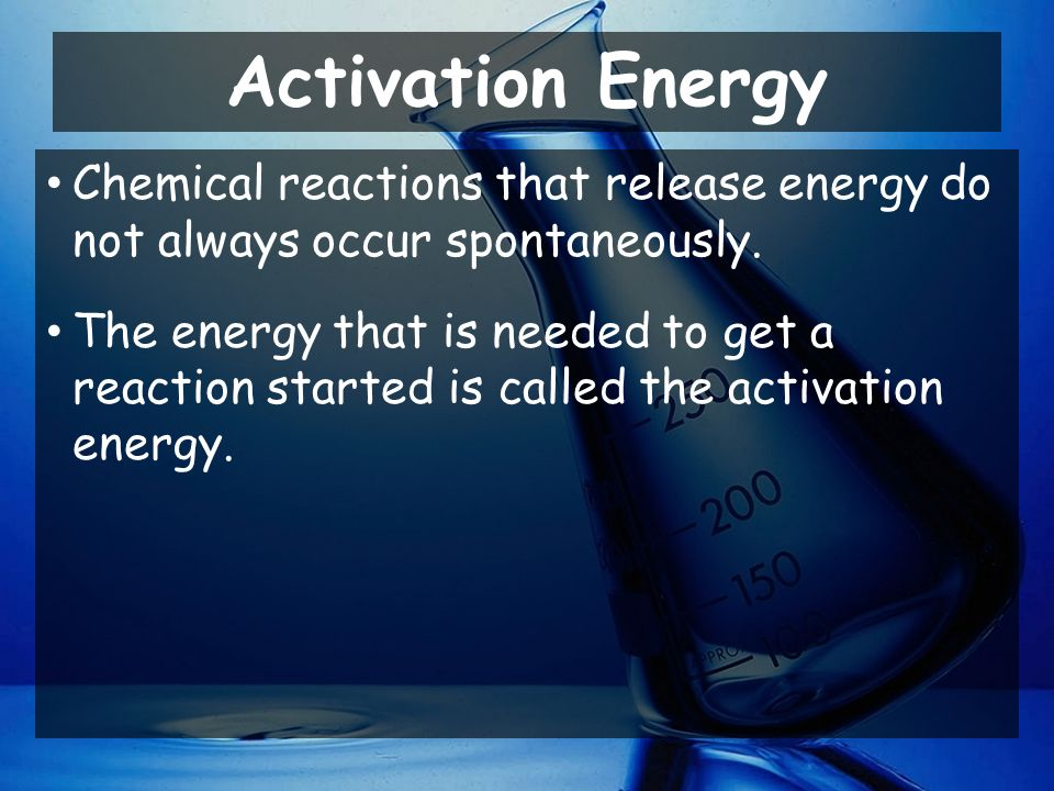 Activation Energy Chemistry Problems And Answers