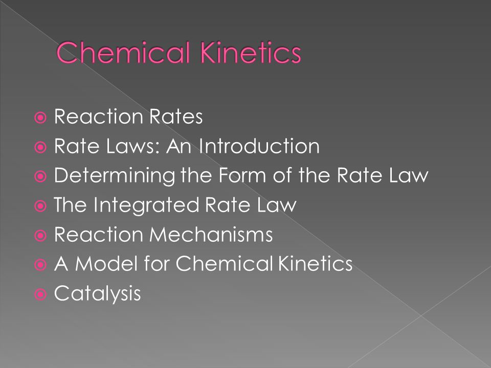 reaction kinetics N goalby chemreviseorg 1 4 reaction kinetics from gcse you should be aware that reactions can occur at different rates explosions and combustion reactions.