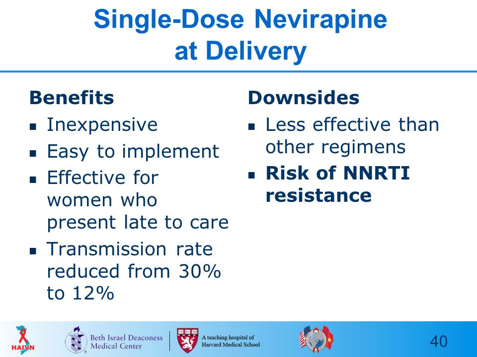 Nevirapine Dose For Pmtct