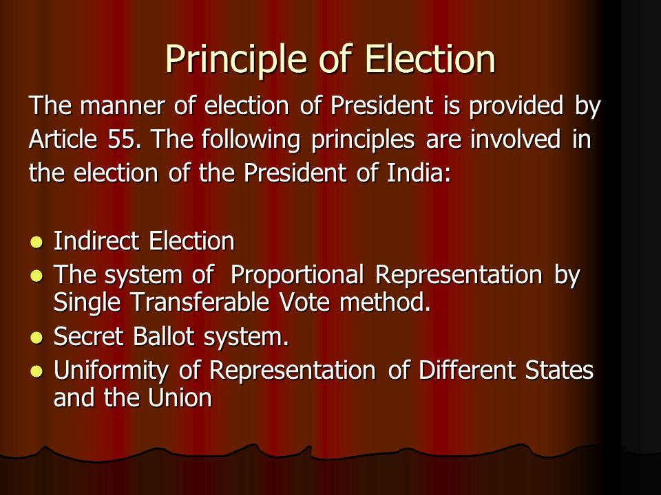 president election india
