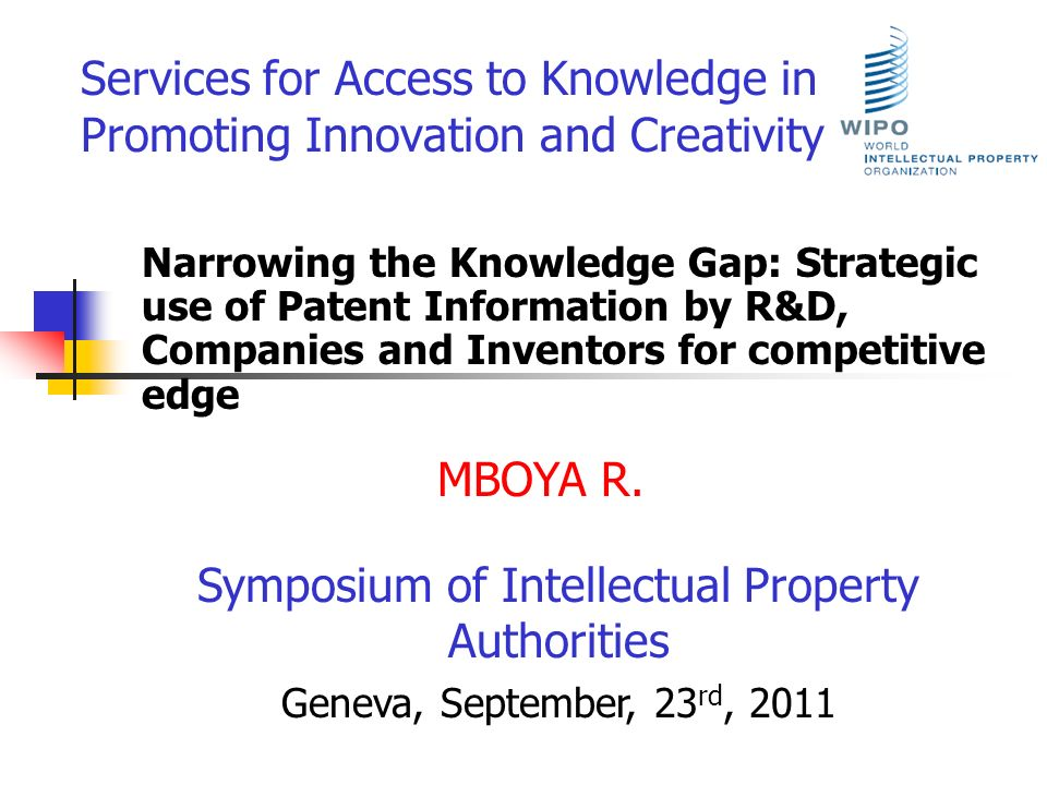 Symposium of Intellectual Property Authorities
