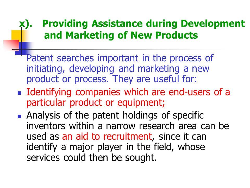 x). Providing Assistance during Development